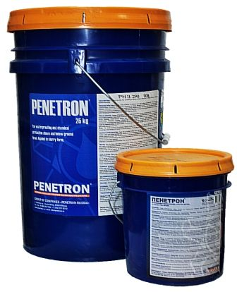 смесь для гидроизоляции бетонных поверхностей пенетрон